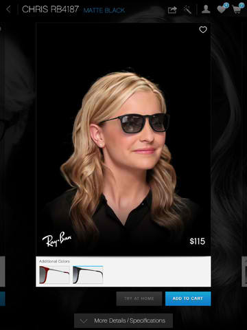 See It To Believe It: Glasses.com For iPad Lets You Virtually Try On Eyeglasses