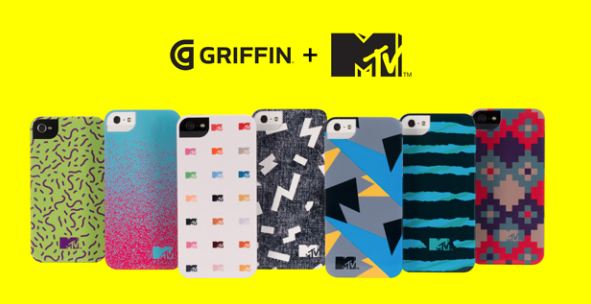 Rock On: Griffin, MTV Team Up For A Line Of Stylish iPhone Cases