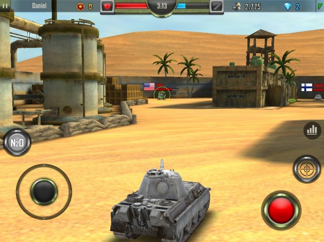 Show Off Your Tank Battling Skills In Iron Force