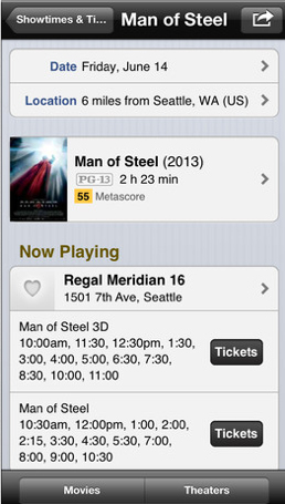 Purchase Movie Tickets Directly Through The Updated IMDb Movies & TV App