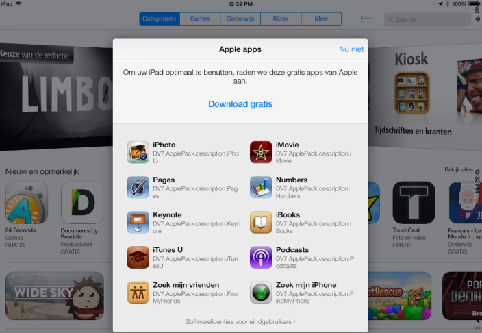 Some Of Apple's Non Native Apps Could Become Free Downloads In iOS 7