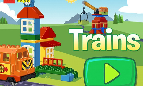 Toddlers Will Love The Newly Released LEGO DUPLO Train App