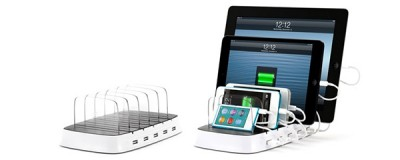 Griffin's PowerDock 5 Can Charge Up To Five iOS Devices At Once