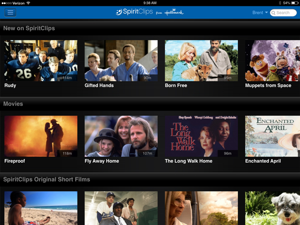 SpiritClips From Hallmark Is A Different Kind Of Streaming Video Service
