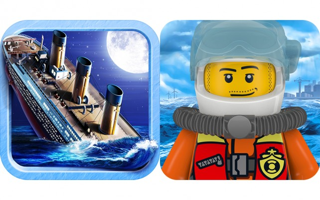 Today's Best Apps: Escape The Titanic And Lego City Rapid Rescue