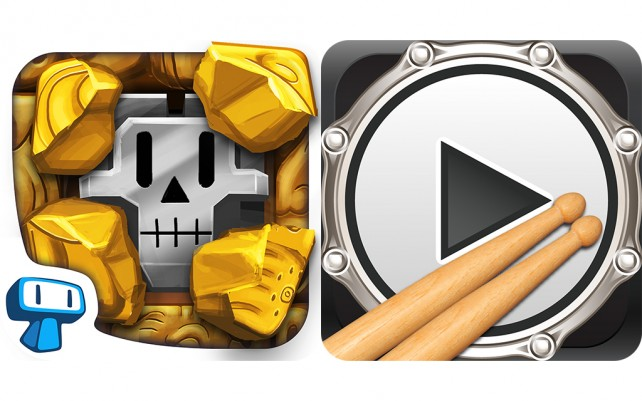 Today's Best Apps: Temple Minesweeper And VirtualDrumming