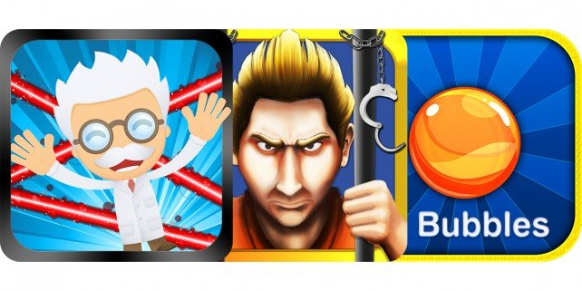 Today's Best Apps: Laser Chambers, Prison Break Run And 8 Bubbles