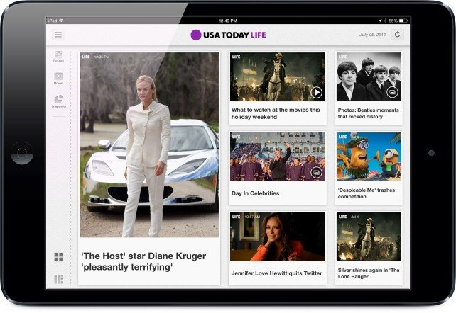 The USA Today For iPad App Now Includes A Redesigned Weather Module And More