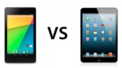 Hardware Comparison: Google's New Nexus 7 Versus Apple's iPad mini