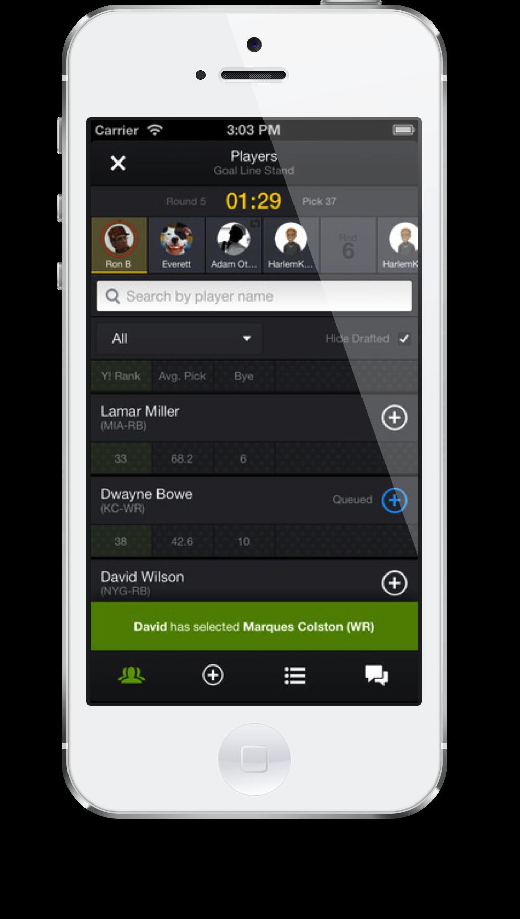 The Yahoo! Fantasy Sports - Football App Launches For 2013 NFL Season