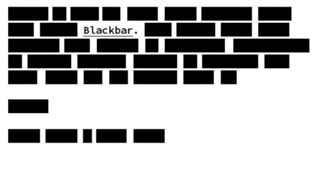 In Blackbar, Censorship Becomes The Ultimate Game