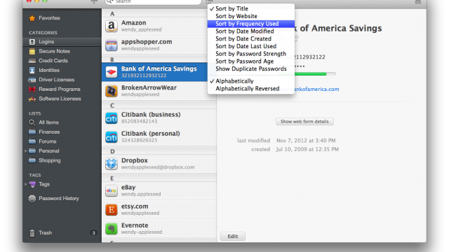 AgileBits Has Some Big Plans For 1Password Mac This Fall