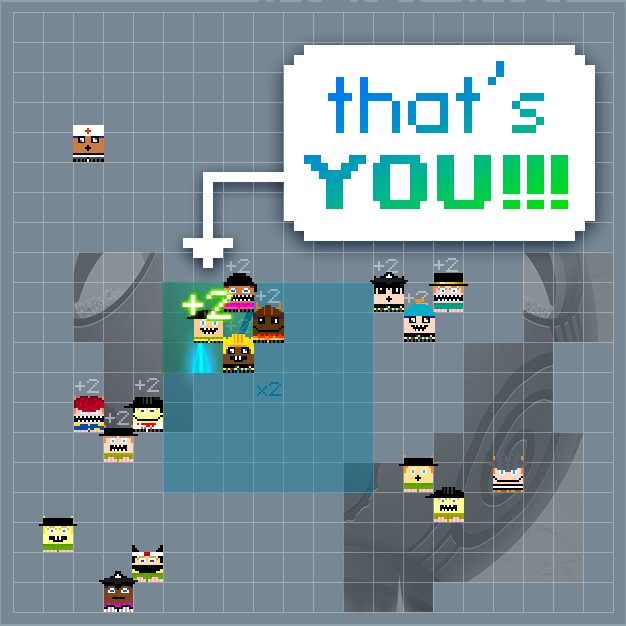 Race With Others To Form The Right Pattern In Indie Pixel