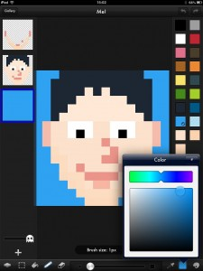 Create Beautiful Pixel Art On Your iPad Using Pixaki