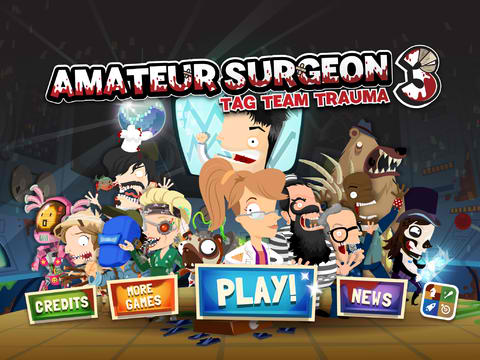 No Pain, No Gain: Join The Tag Team Trauma In Amateur Surgeon 3