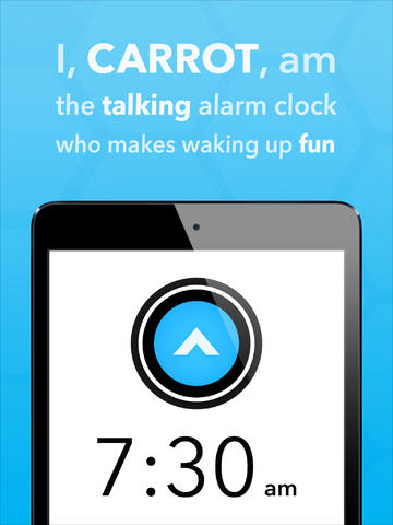Wake Up On Time Or Be Publicly Shamed By The Newly Updated Carrot Alarm