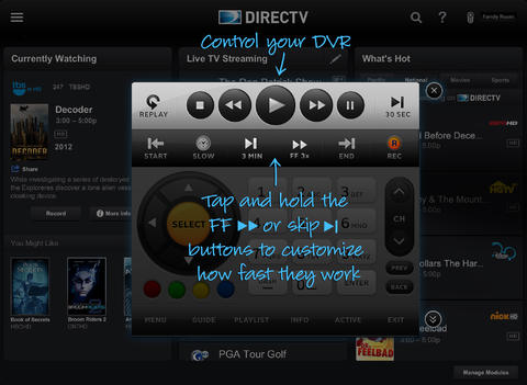 DirecTV App For iPad Gets Redesigned With New Look And New Navigation Features