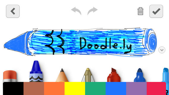 Fun And Free Social Drawing App Doodle.ly Goes Universal With New iPhone Version