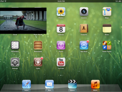 Cydia Tweak: VideoPane Offers Picture-In-Picture Video For iOS