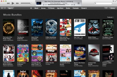 Go Get 'Em: Apple Offering Rare iTunes Sale On Movie Bundles