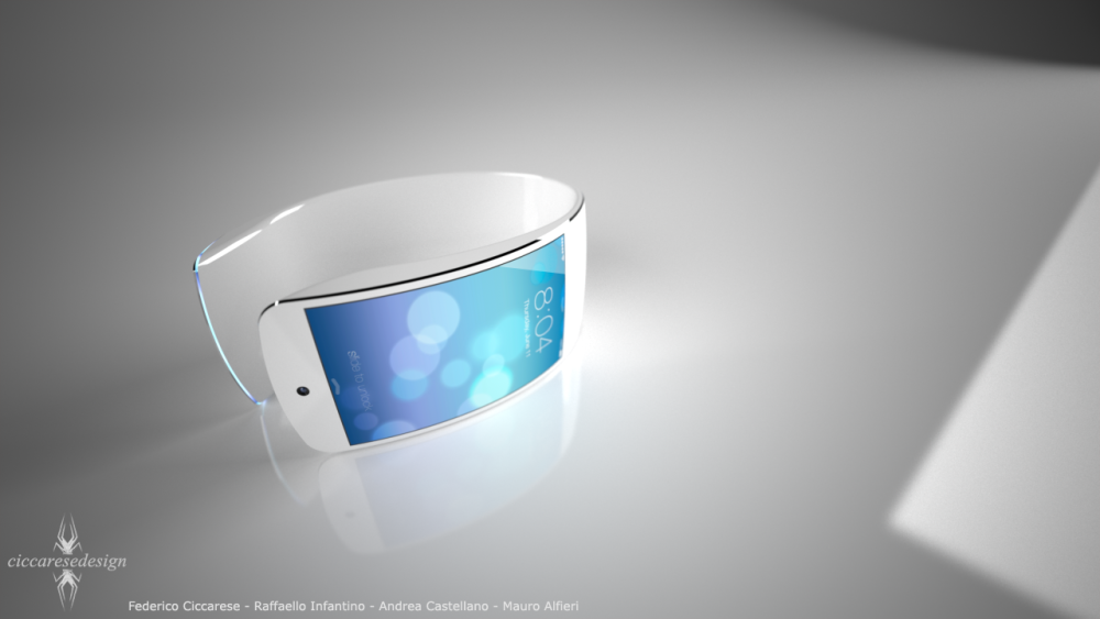 New iWatch Concept Imagines Impressive Flexible Display, iOS 7-Inspired UI