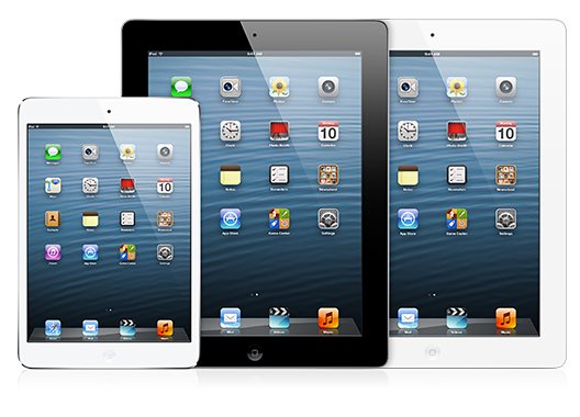 Could The Next-Gen iPad Feature A Mac-Like Translucent Apple Logo?