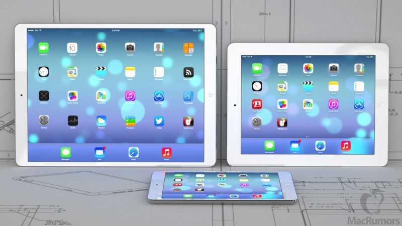 How Apple's Rumored 12.9-Inch iPad Might Look