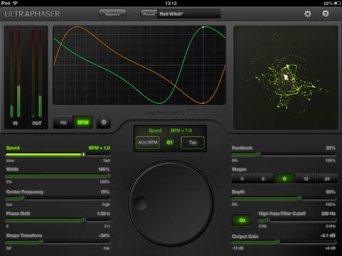 UltraPhaser Can Add iPad-Powered Phaser Effects To Your Set