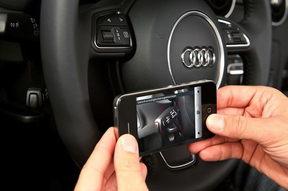 Audi's New iOS App Uses Augmented Reality To Make Car Repairs Less Complex