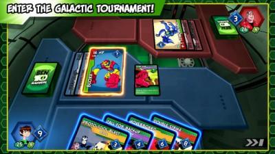 Enter The Galactic Tournament Now In Cartoon Network's Ben 10 Slammers