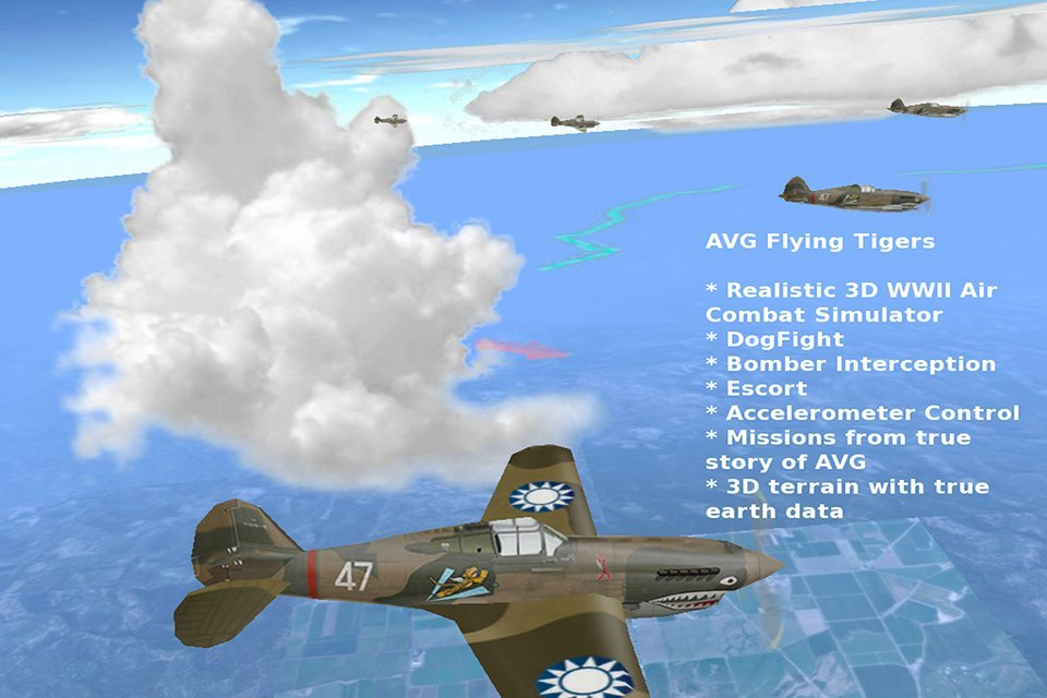 AVG Flying Tigers Set To Offer A Realistic WWII Air Combat Simulator