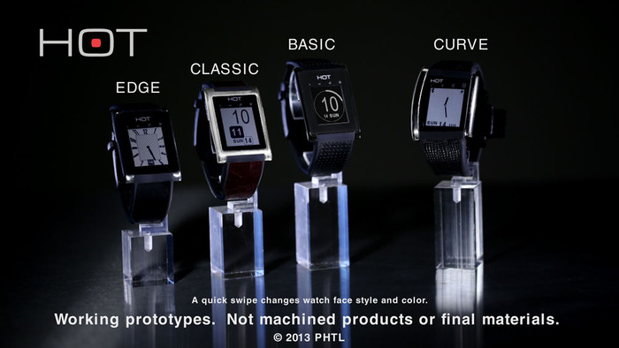 Kickstarter: Hot Watch Takes Aim At Pebble, iWatch And More