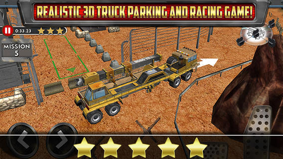 Park It Like It's Hot: Parking Simulator Desert Trucker Is Big, Bad And 3-D