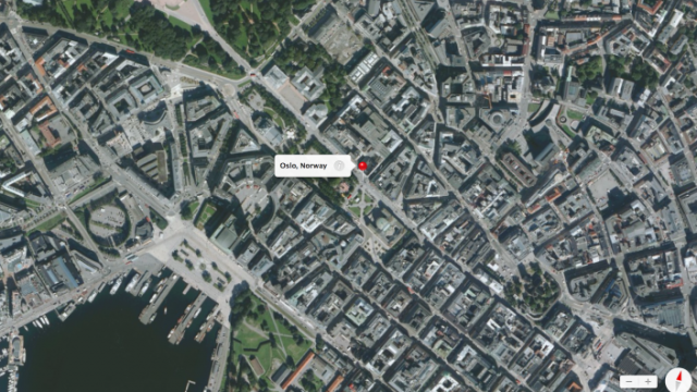 Norway's Government Blocks 3-D Apple Maps For Oslo