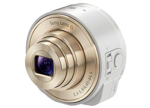 Sony's QX 'Smart Shot' Camera Lens Will Be Ready For The Champagne-Colored iPhone