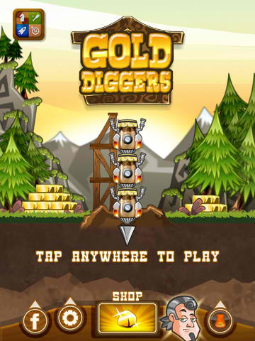 How Low Can You Go? Find Out By Steering Your Digging Machine In Gold Diggers