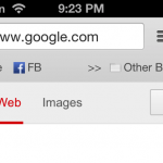 Cydia Tweak: Give Chrome For iOS A Bookmarks Bar With BMarks Bar - Chrome