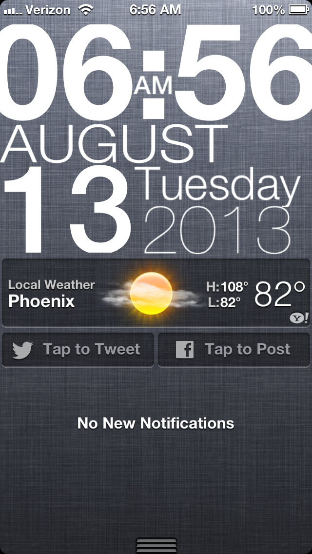 Cydia Tweak: TypographyTime Makes Its Way To Notification Center