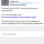 Update: A Surprise Development, Apple Releases iOS 7 Beta 6