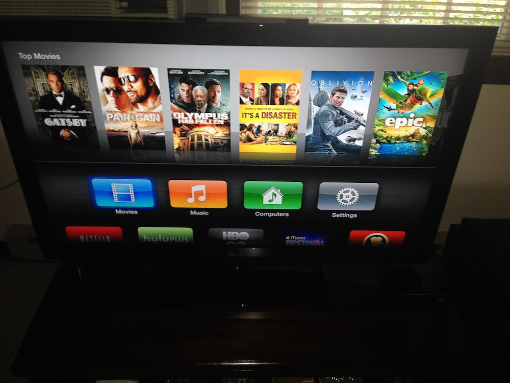 The TV Section Is Mysteriously Missing On The Apple TV
