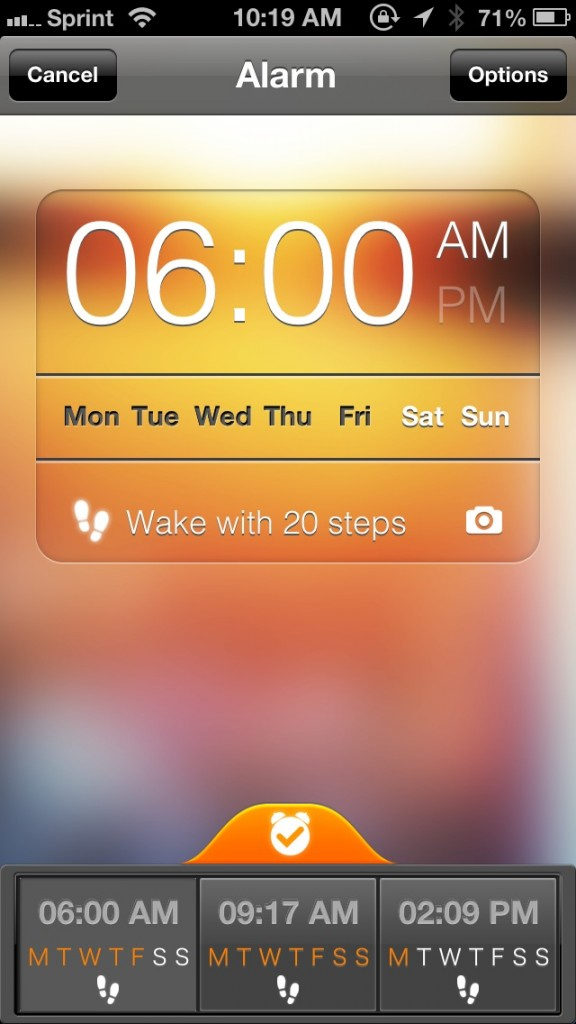 Take The Necessary Steps To Wake Up Every Morning With Step Out! Alarm Clock
