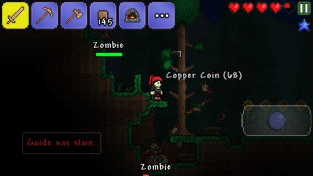 Get Building Before You're Destroyed By Creatures Of The Night In Terraria