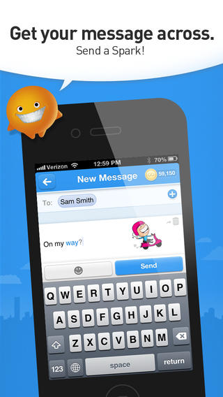 Create A Spark And Show Your Flair With The Newly Updated Lango Messaging App