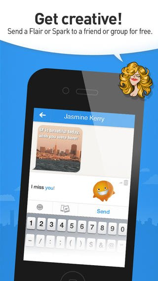 Lango Messaging App Gains More Spark And Flair With New iOS 7-Inspired Interface