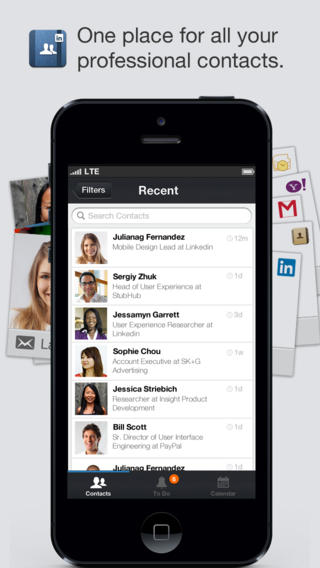 LinkedIn Contacts Gains New Features As It Connects With Its First Update