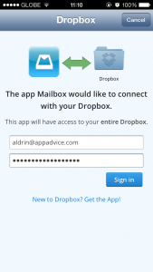 Get 1GB Of Extra Space On Your Dropbox Account Just By Linking It To Mailbox