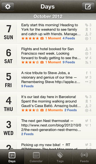Momento Journal App Updated With Reminders, Nearby Place Tags And More