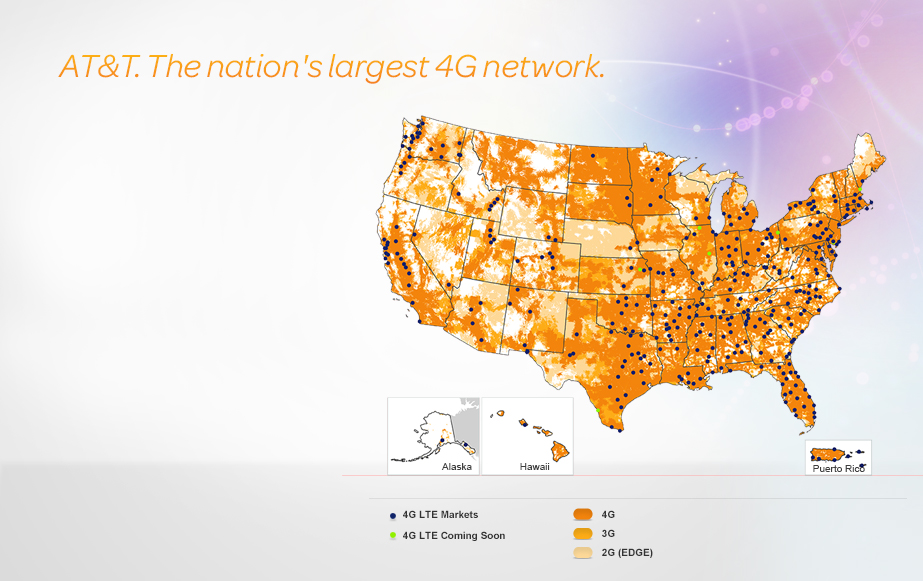 AT&T Expands Its 4G LTE Coverage Once Again