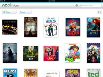 Barnes & Noble Launches Nook Video App For iOS