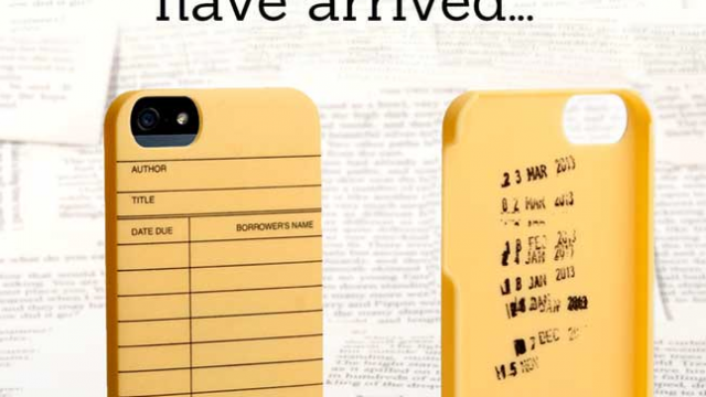 Judging An iPhone By Its Cover: Out Of Print Launches New 'Literary' iPhone 5 Cases